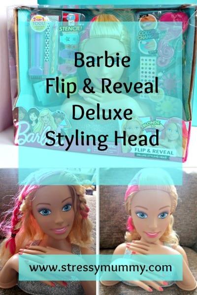 Barbie Flip & Reveal Deluxe Styling Head