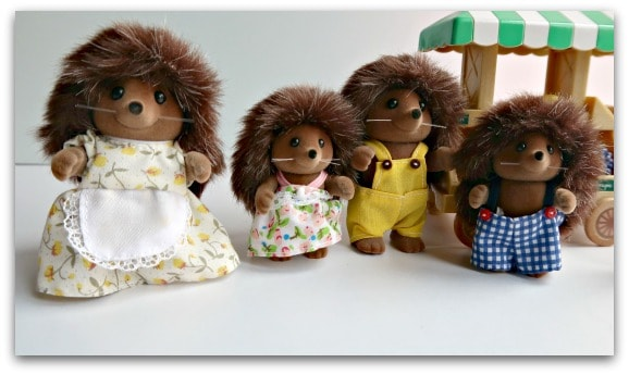The Sylvanian Families Bramble Hedgehog Family has had a makeover for 2017
