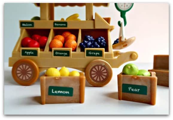 Sylvanian Families Fruit Wagon has lots of lovely details