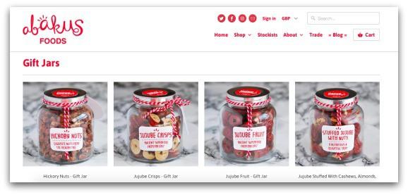 Abakus Foods Gift Jars