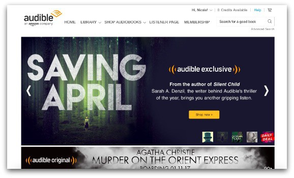 Audible – A Different Way to Read