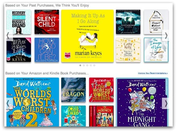 Audible Recommendations
