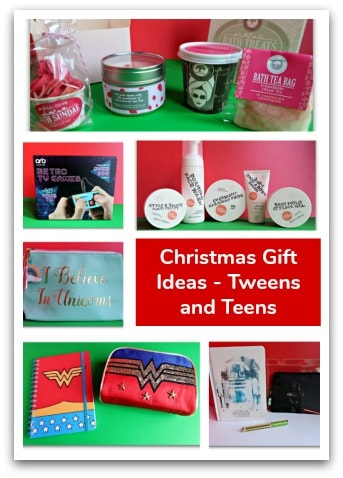 Christmas Gift Ideas – Tweens and Teens