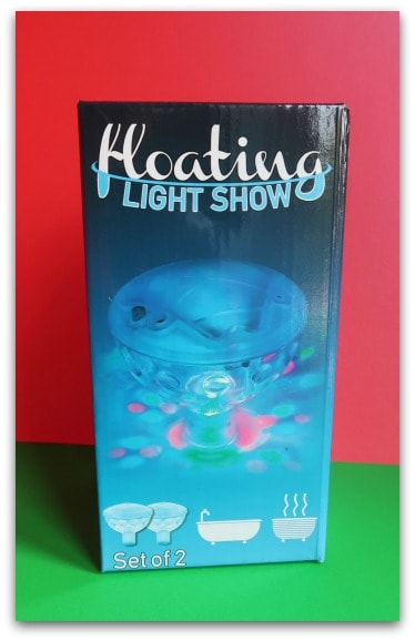 Underwater Light Show from Prezzybox