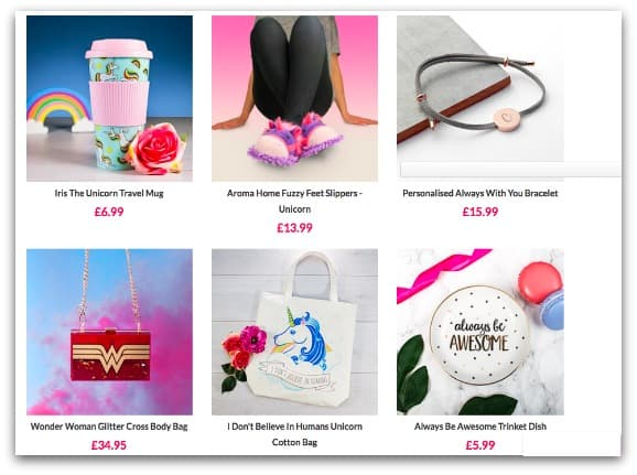 Gift Ideas for Teen Girls from Prezzybox.com