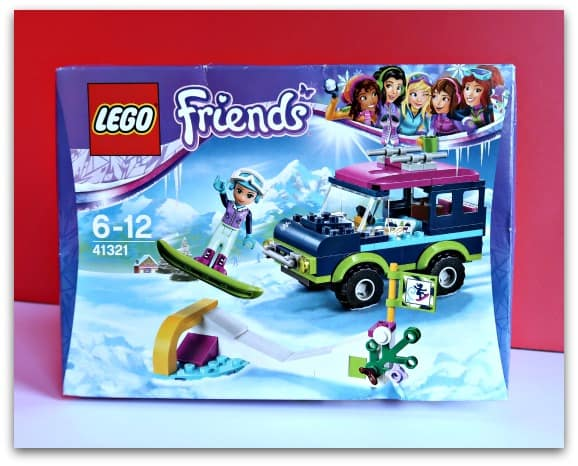 LEGO Friends Snow Resort Off-Roader Boxed