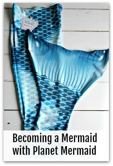 Becoming a Mermaid with Planet Mermaid
