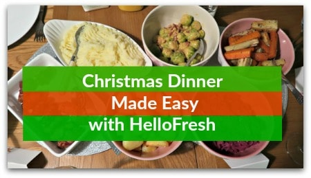 Christmas Dinner Made Easy with HelloFresh