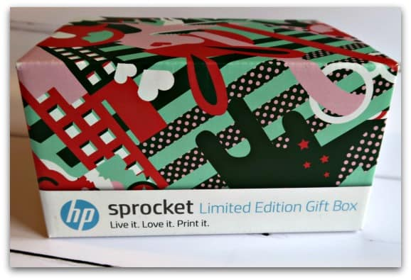 HP Sprocket Limited Edition Gift Box Boxed