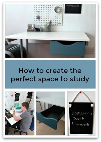 how to create the perfect space to study stressy mummy
