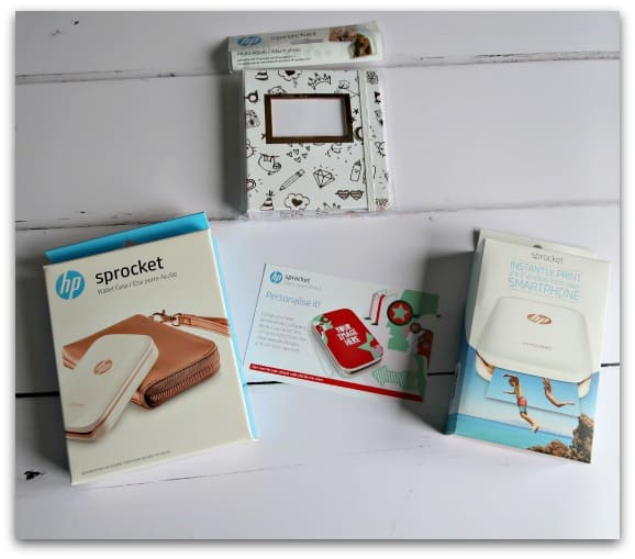 What's inside the HP Sprocket Limited Edition Gift Box