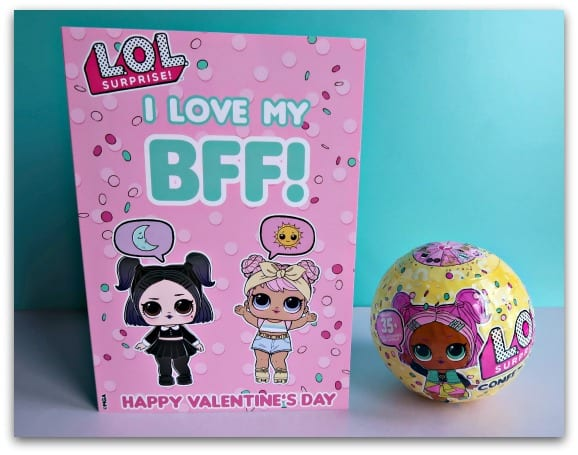 Celebrating 'Galentine's Day' with L.O.L. Surprise! Confetti Pop