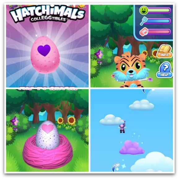 Hatchifans can download the free Hatchimals CollEGGtibles app where they can collect, care for and play with lots of Hatchimals
