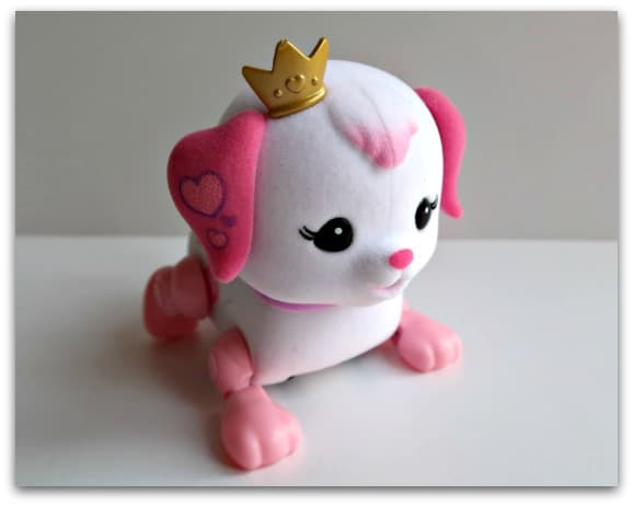 Princess Ruby from the Little Live Pets Cutie Pups Playcase