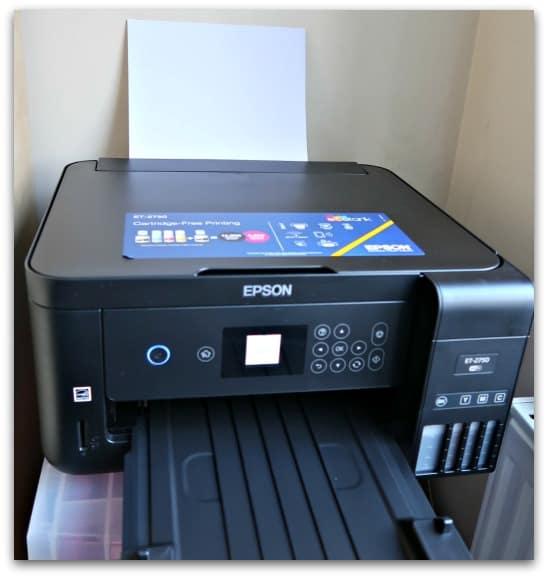 The Epson EcoTank ET-2750 - The Perfect Family Printer