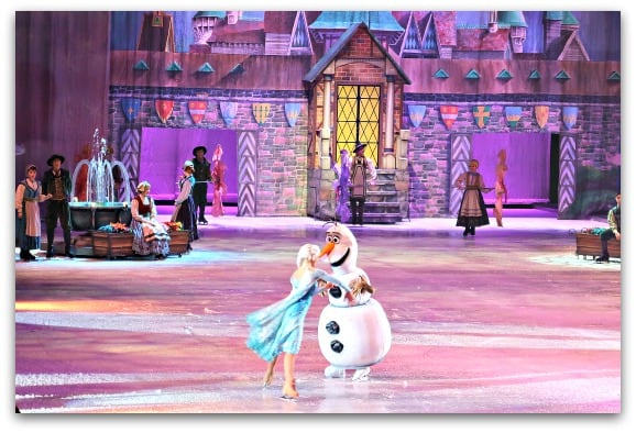 Disney On Ice Worlds of Enchantment the story of Frozen is just as exciting to watch on ice, if not even more exciting