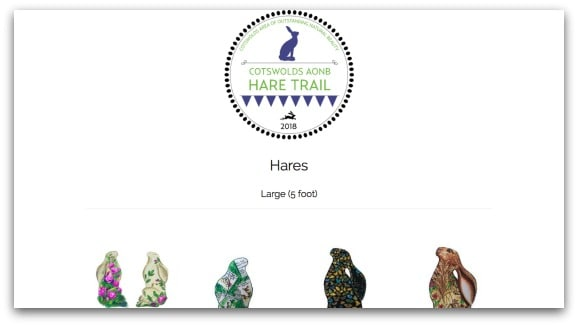 Cotswold AONB Hare Trail