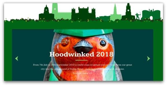 Hoodwinked Nottingham 2018