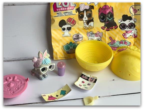 L.O.L. Surprise! Pets Contents