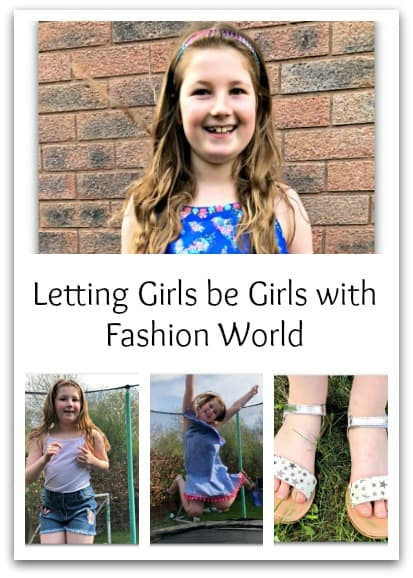 Letting Girls be Girls with Fashion World