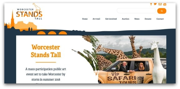 Worcester Stands Tall 2018 Sculpture Trail