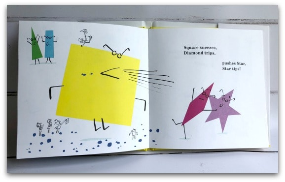 Circle Rolls is a fun and quirky story involving shapes for young children