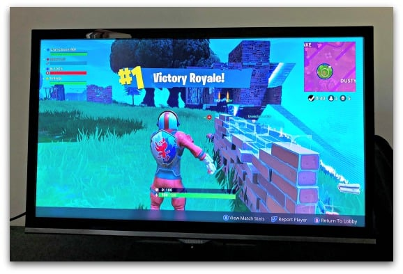 This will be a familiar sight for many parents whose kids are addicted to Fortnite