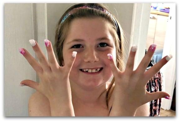 Nail-a-Peel party nails