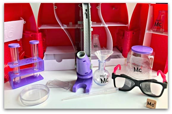 The contents of the Project Mc2 Ultimate Lab Kit
