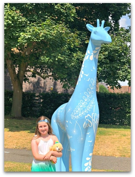 My daughter's favourite giraffe from Worcester Stands Tall
