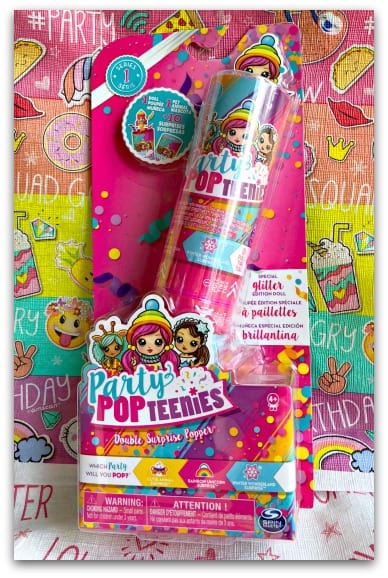 Party Popteenies Double Surprise Popper Boxed