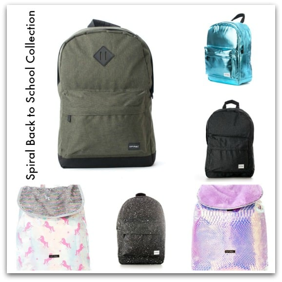 Spiral Back to School Collection