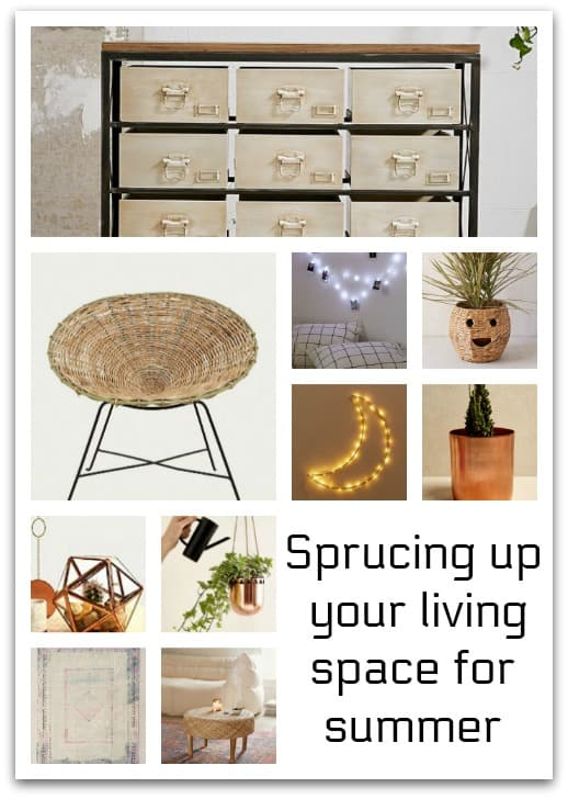 Sprucing up your living space for summer