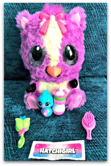 Hatchimals HatchiBabies are cute and cuddly and come with four hidden accessories