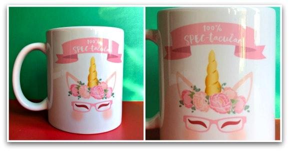 100% Spec-tacular Fairy Unicorn Mug from fairy specs.com