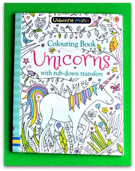 Usborne Minis Colouring Book Unicorns