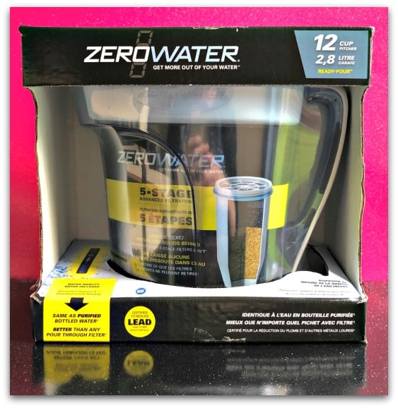ZeroWater 12 Cup 2.8 litre Filter Water Jug