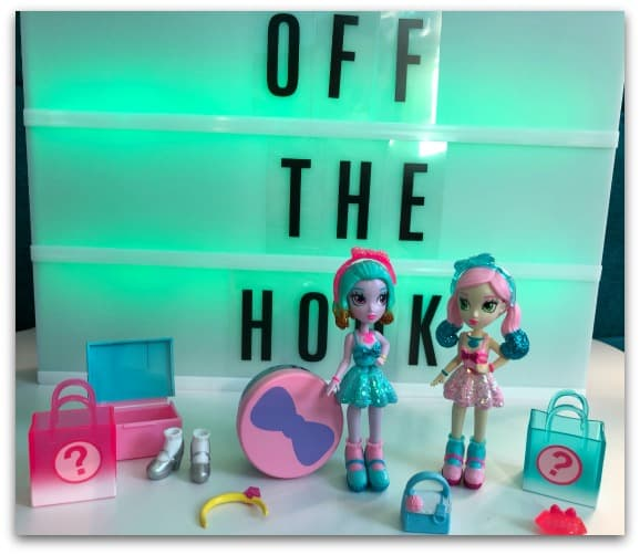 Off The Hook dolls come with accessories and different outfits